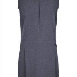 Stretch Pinafore in Grey