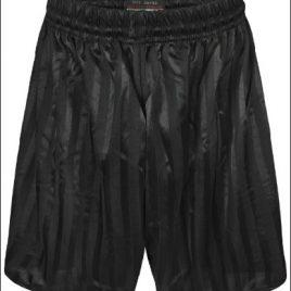 Shadow Stripe Shorts Black